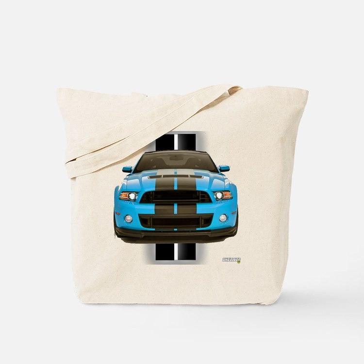 New Mustang Blue Tote Bag