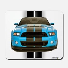 New Mustang Blue Mousepad