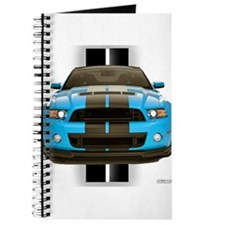 New Mustang Blue Journal