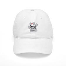 Love My Black Mouth Cur Baseball Cap