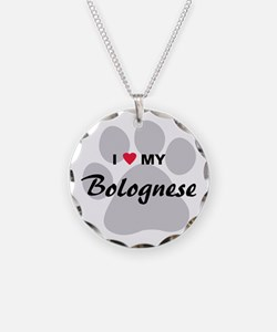 I Love My Bolognese Necklace