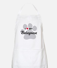 I Love My Bolognese Apron