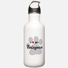 I Love My Bolognese Water Bottle