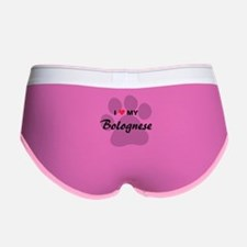 I Love My Bolognese Women's Boy Brief