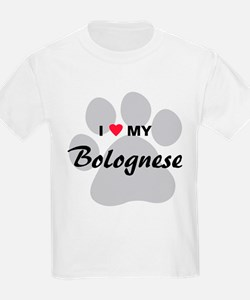I Love My Bolognese T-Shirt