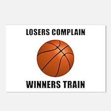 Basketball Winners Train Postcards (Package of 8)