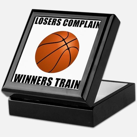 Basketball Winners Train Keepsake Box