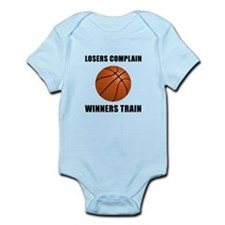 Basketball Winners Train Infant Bodysuit