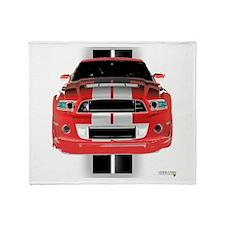 New Mustang GTR Throw Blanket