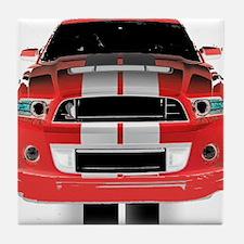 New Mustang GTR Tile Coaster