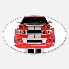 New Mustang GTR Decal