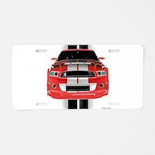New Mustang GTR Aluminum License Plate