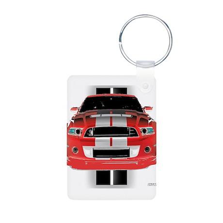 New Mustang GTR Aluminum Photo Keychain