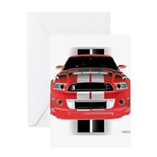 New Mustang GTR Greeting Card
