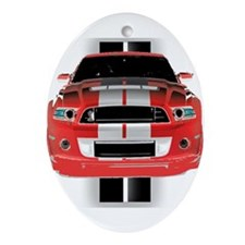 New Mustang GTR Ornament (Oval)