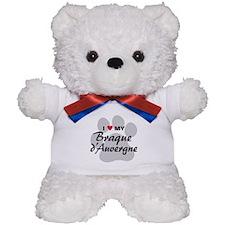 Love My Braque d'Auvergne Teddy Bear
