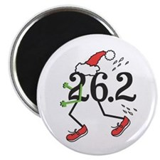 "Holiday 26.2 Marathoner 2.25"" Magnet (10 pk)"