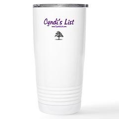 Cyndi's List Travel Mug