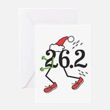 Holiday 26.2 Marathoner Greeting Card