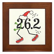 Holiday 26.2 Marathoner Framed Tile