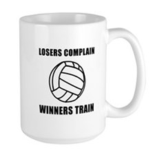 Volleyball Winners Train Mug