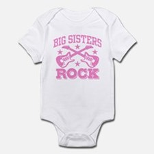 Big Sisters Rock Onesie