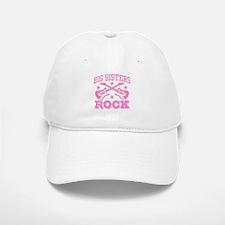 Big Sisters Rock Baseball Baseball Cap