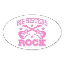 Big Sisters Rock Decal