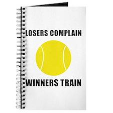 Tennis Winners Train Journal