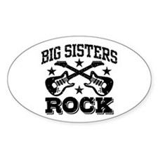 Big Sisters Rock Decal