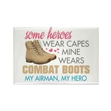 Cute Combat boots Rectangle Magnet