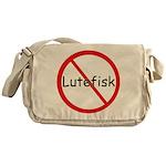 No Lutefisk Messenger Bag