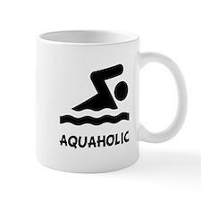 Aquaholic Swimmer Mug