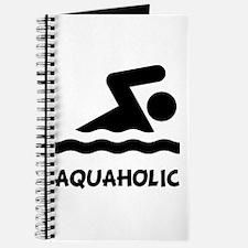 Aquaholic Swimmer Journal