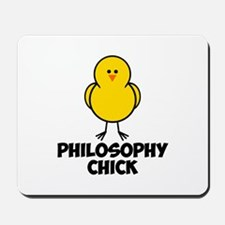 Philosophy Chick Mousepad