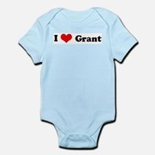 I Love Grant Infant Creeper