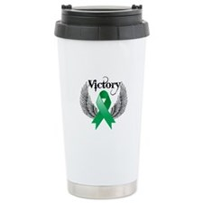 Victory Liver Cancer Travel Mug