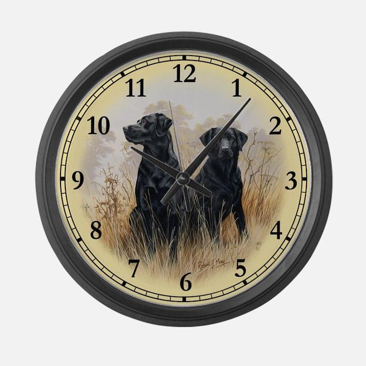 Labrador Clocks Labrador Wall Clocks Large Modern