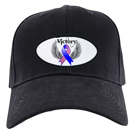 Victory Male Breast Cancer Black Cap