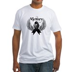 Victory Melanoma Fitted T-Shirt
