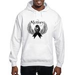 Victory Melanoma Hooded Sweatshirt