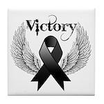 Victory Melanoma Tile Coaster