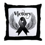 Victory Melanoma Throw Pillow