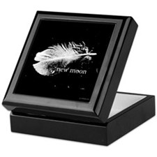 New Moon Feather by Twibaby Keepsake Box