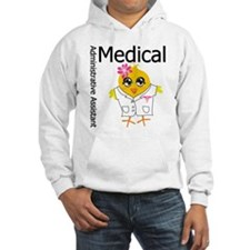 Medical Admin Assistant Chick Hoodie
