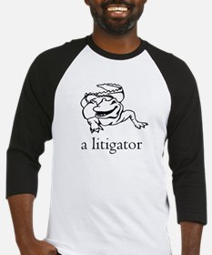 a litigator Baseball Jersey