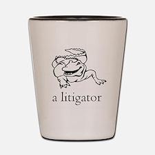 Unique Lawyer Shot Glass
