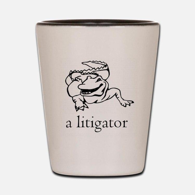 Cute Litigator Shot Glass