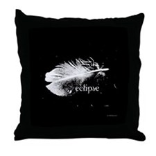 Twilight Eclipse Feather by Twibaby Throw Pillow