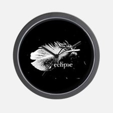 Twilight Eclipse Feather by Twibaby Wall Clock